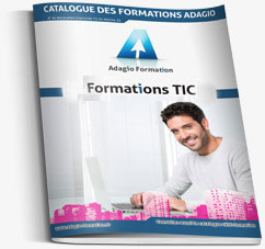 Catalogue des formations Webmarketing et Webmastering d'Adagio Formation