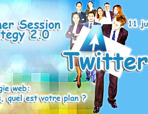 Twitter: Une dose d'instantanéité dans votre plan webmarketing | Summer Session Strategy 2.0