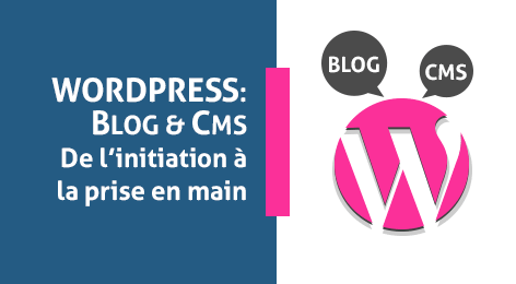 WordPress Blog & CMS: de l'initiation à la prise en main