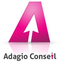 logo adagio conseil et services